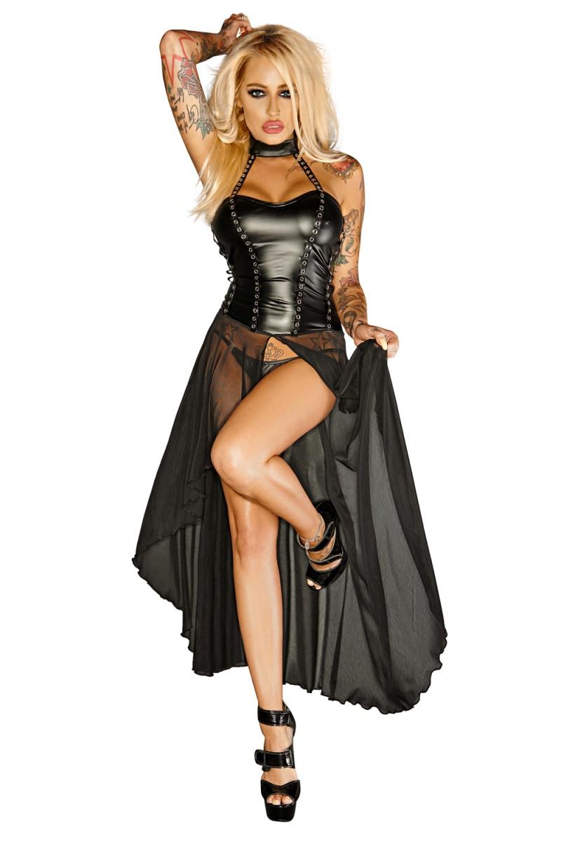 schwarz Handmade - langes Kleid F139 3XL | Heißer Heißer Heißer Verkauf  | Zuverlässige Leistung  | Export  | Outlet Store Online  | Kostengünstiger  23f7a5